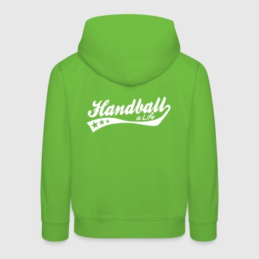 handball is life - retro - Kinder Premium Hoodie
