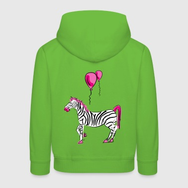 Dream On Little Zebra - Kinder Premium Hoodie