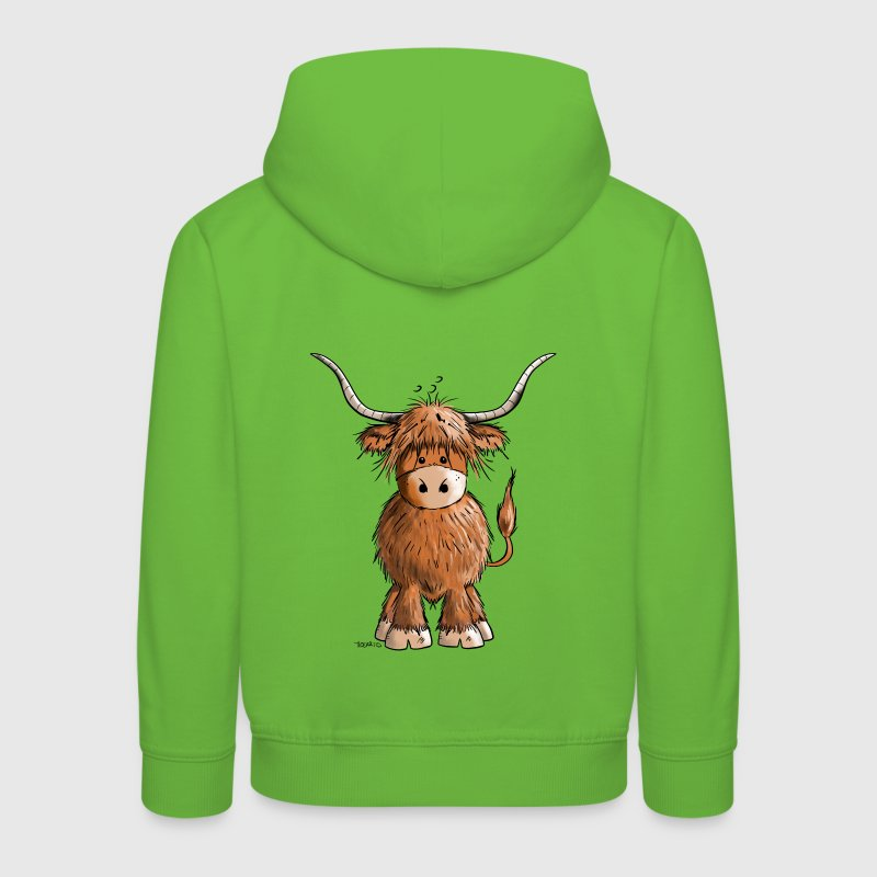 Scottish Highland Cattle - Kids' Premium Hoodie