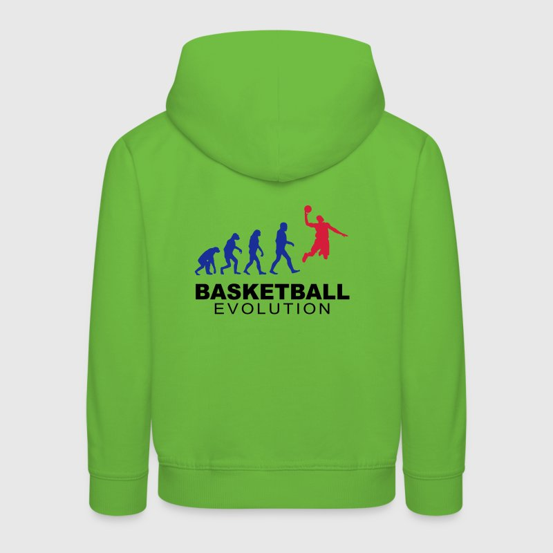 Basketball evolution - Pull à capuche Premium Enfant