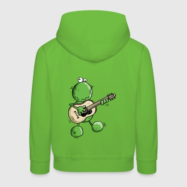 Rock and Pop Frog - Grenouille - Pull à capuche Premium Enfant