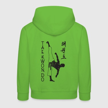 taekwondo man right 2 3 UK 01 - Kids' Premium Hoodie