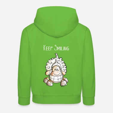 Farm Keep Smiling Sheep - Kids' Premium Hoodie