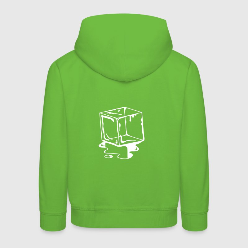 A melting ice Cube  - Kids' Premium Hoodie