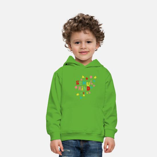 First Day Of School Hoodies & Sweatshirts - Schoolchild 2019 - Kids' Premium Hoodie light green