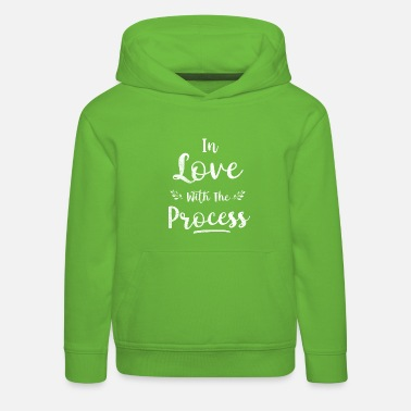 In Love with the Process - Kids' Premium Hoodie