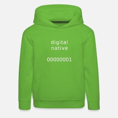 digital native - Kids' Premium Hoodie