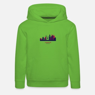 london-panorama - Kids' Premium Hoodie