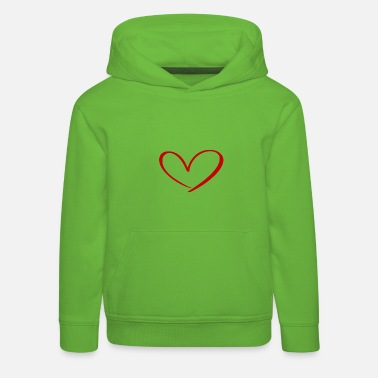 Love Hearts Against Hate 315 - Kinder Premium Hoodie