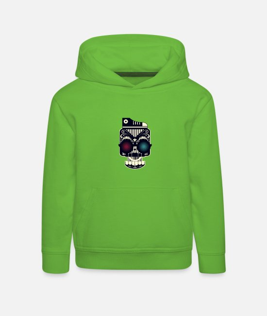 New Hoodies & Sweatshirts - Cool new design - Leibl Designs - Kids' Premium Hoodie light green