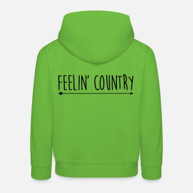 Country Country - Kids' Premium Hoodie