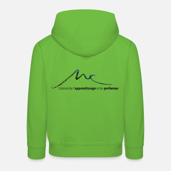 Performance Hoodies & Sweatshirts - Cabinet of Learning and Performer Logo - Kids' Premium Hoodie light green