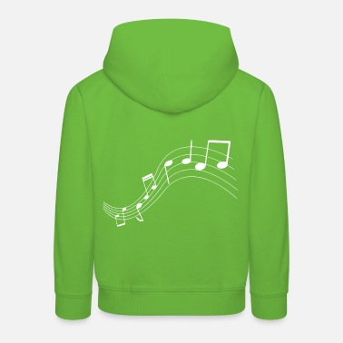 Music Music notes music notes - Kids' Premium Hoodie