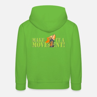 Revolution Chinese fire belly newt - Kids' Premium Hoodie