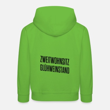 Aprèsski Second home mulled wine stall - Christmas market - Kids' Premium Hoodie