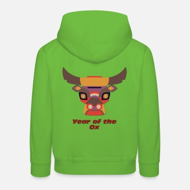 Year Year of the Ox - Year of the Ox - Kids' Premium Hoodie