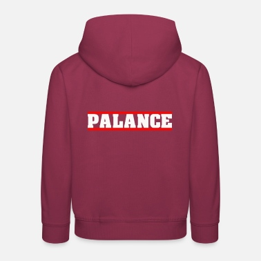 Bashment PALANCE PARTY LIME N DANCE SOCA DANCEHALL BASH - Kids' Premium Hoodie