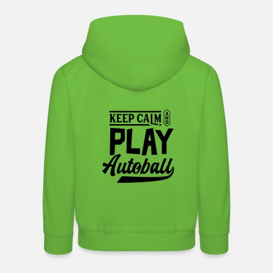 Gift Idea Hoodies & Sweatshirts - Ball sports Autoball Sport - Kids' Premium Hoodie light green