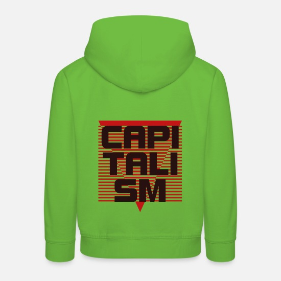 Birthday Hoodies & Sweatshirts - Capitalism Entrepreneur Gift T-Shirt - Kids' Premium Hoodie light green