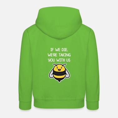 Bee Fridays for future Greta Climate Change. Do - Kids' Premium Hoodie