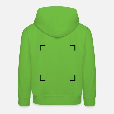 Square of corners - Kids' Premium Hoodie
