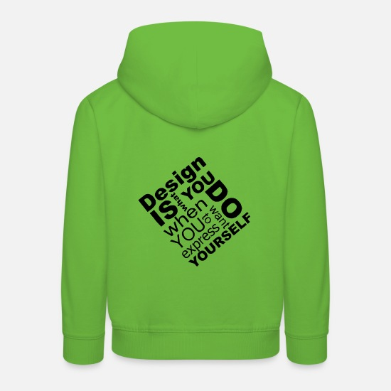 Emergence Hoodies & Sweatshirts - DESIGN - Kids' Premium Hoodie light green