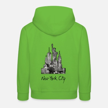 New York City NYC Manhattan America USA - Kids' Premium Hoodie