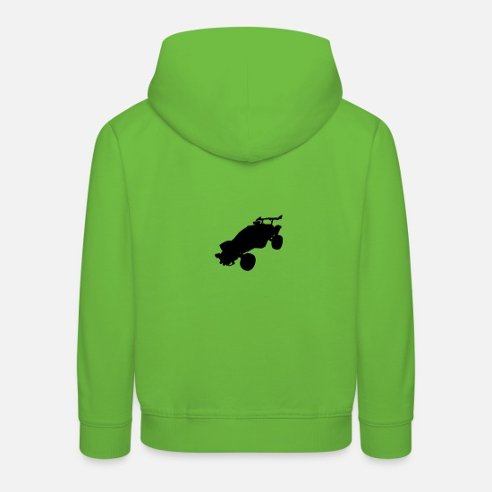Play Hoodies & Sweatshirts - Roc ket League Octane gamers gamer gaming - Kids' Premium Hoodie light green