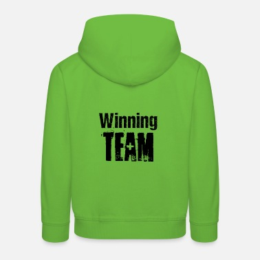 Competition Winning Team Teamplayer Competition Competition - Kids' Premium Hoodie