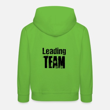 Competition Leading Team Teamplayer Competition Competition - Kids' Premium Hoodie