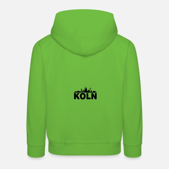 Cologne Cathedral Hoodies & Sweatshirts - Cologne; Cologne - Kids' Premium Hoodie light green
