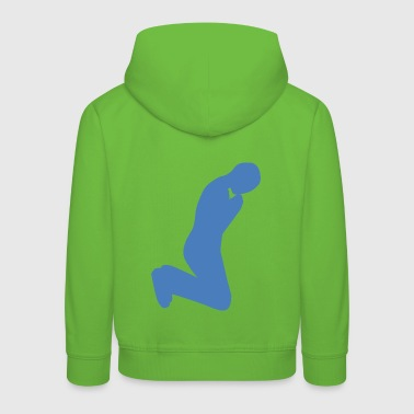 in Prayer - Kids' Premium Hoodie