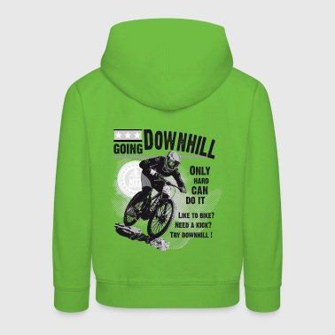 GHB Fahrrad downhill Mountain Bike 03092017 6 - Kinder Premium Hoodie
