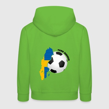 Team Sweden Football Fan Shirt Mug - Kids' Premium Hoodie