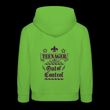 Teenagers out of control - Kids' Premium Hoodie