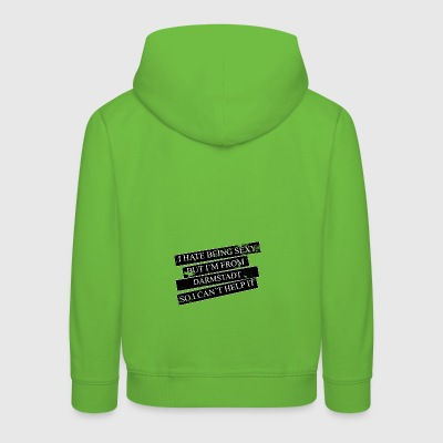 Motive for cities and countries - DARMSTADT - Kids' Premium Hoodie