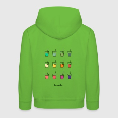 Smoothie Color Cups - Kinder Premium Hoodie