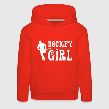 Field Hockey Hockey Girl - Field Hockey - Kids' Premium Hoodie