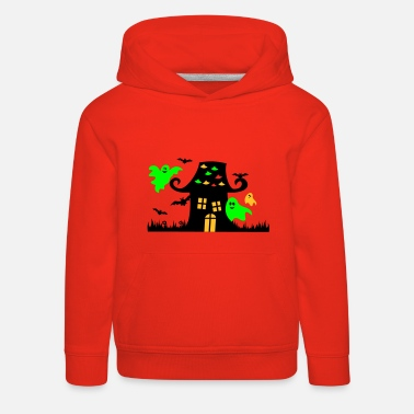 Halloween Ghosts Cute Child - Kids' Premium Hoodie