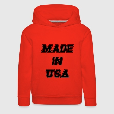 Made in USA - Lasten premium huppari