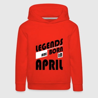 Legends April - Sudadera con capucha premium niño