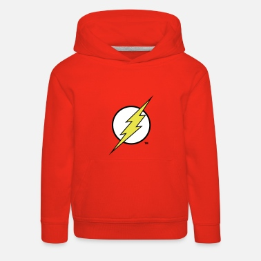 Justice League Flash Logo Kinder Kapuzenpullover - Kinder Premium Hoodie