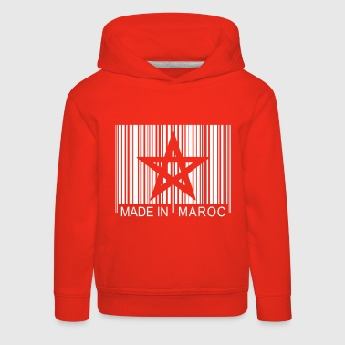 Code barre Made in MAROC 1c - Kids' Premium Hoodie