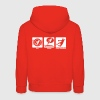 handball eat sleep play2 - Pull à capuche Premium Enfant