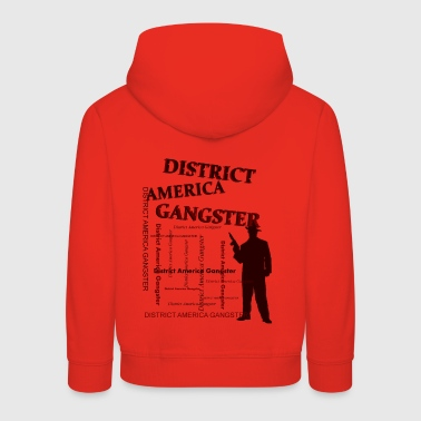 district america gangster - Bluza dziecięca z kapturem Premium