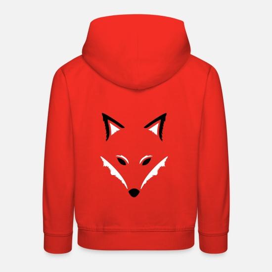 schöner Stil Freiraum suchen attraktiv und langlebig Fuchs Silhouette, Motiv für den Herbst, fox. Kinder Premium ...