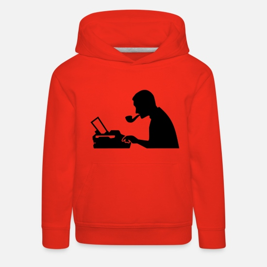 News Hoodies & Sweatshirts - Journalist - Kids' Premium Hoodie red