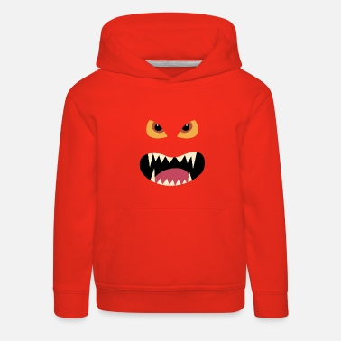 Halloween monster kostym - Premium hoodie barn