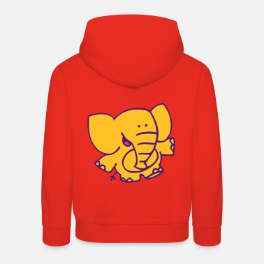 Little Elephant by Cheerful Madness!! - Kids' Premium Hoodie