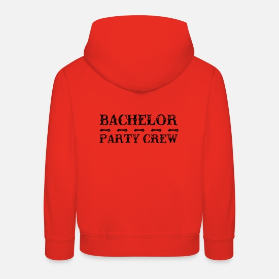 Bride Hoodies & Sweatshirts - Party Crew - Wolfpack - Kids' Premium Hoodie red